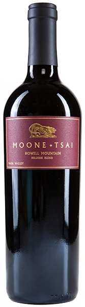 2016 Moone Tsai Howell Mountain Hillside Blend
